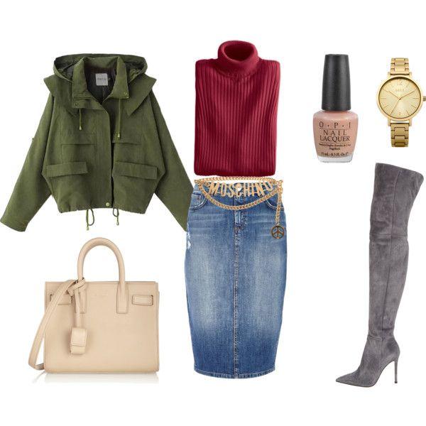 Новая жизнь джинсовой юбки