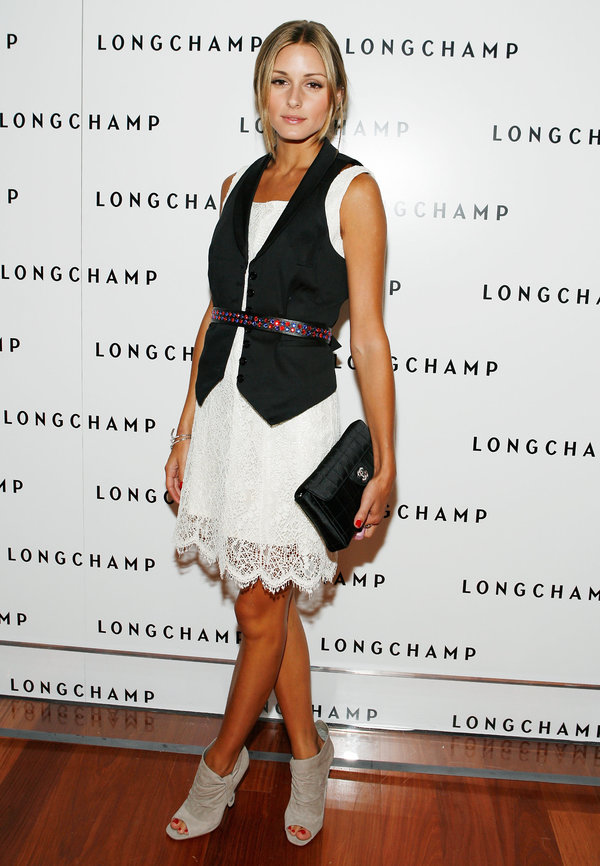 NEW YORK - JULY 14: Socialite Olivia Palermo attends Longchamp's 60th Anniversary celebration at La Maison Unique Longchamp on July 14, 2008 in New York City. (Photo by Amy Sussman/Getty Images)