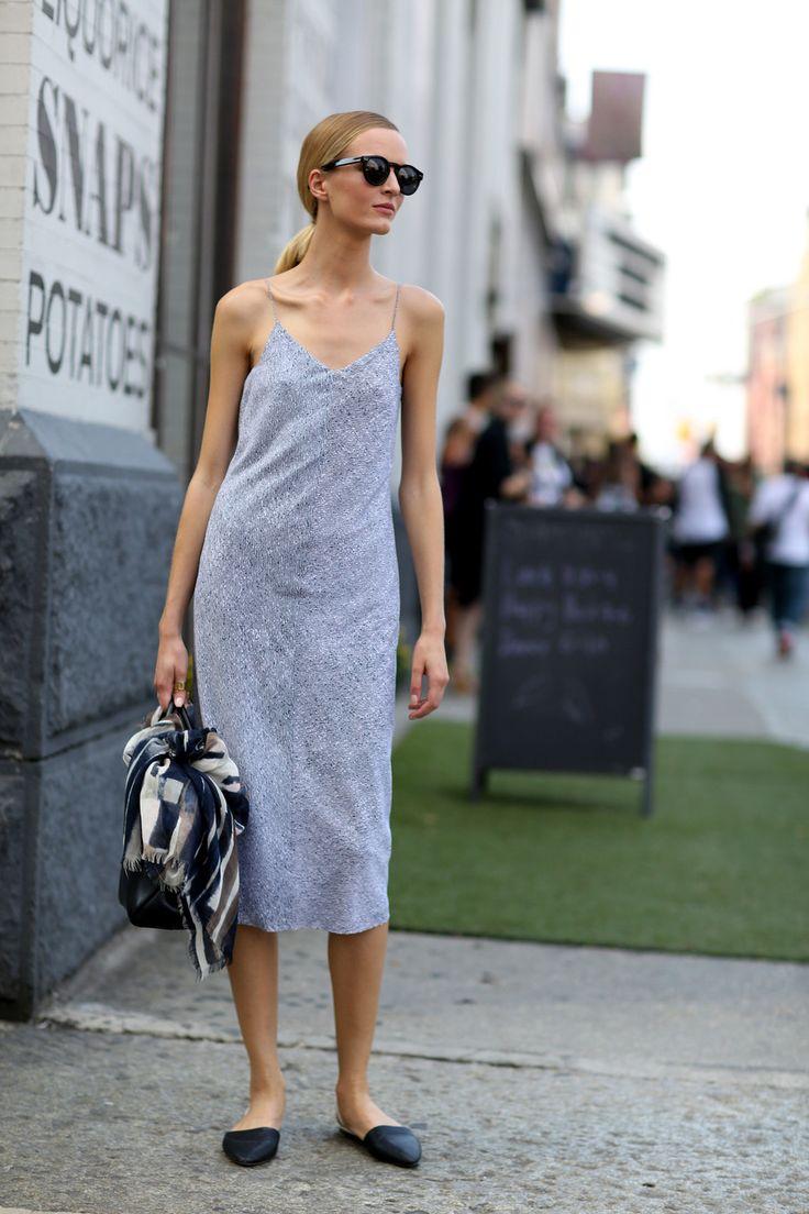 что носить летом: платье-ночнушка