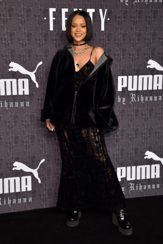 Rihanna+Dresses+Skirts+Sheer+Dress+sHCDPTP_PhLx