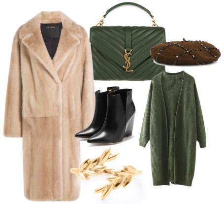 Модные идеи для зимнего гардероба