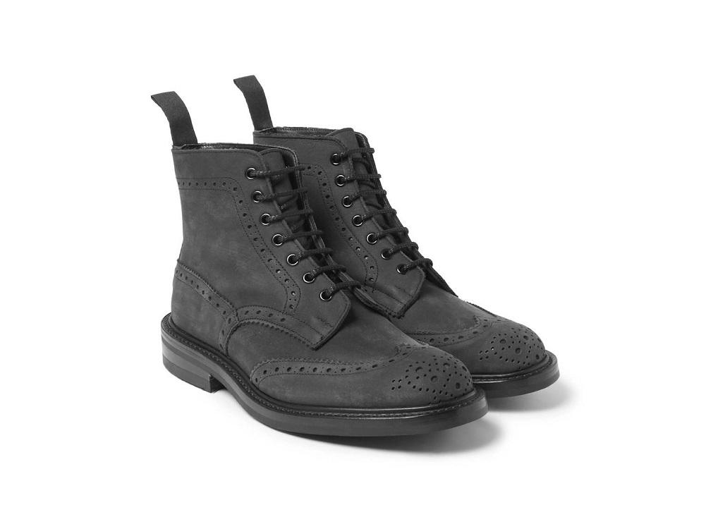 мужская зимняя обувь 2018 - зимние броги