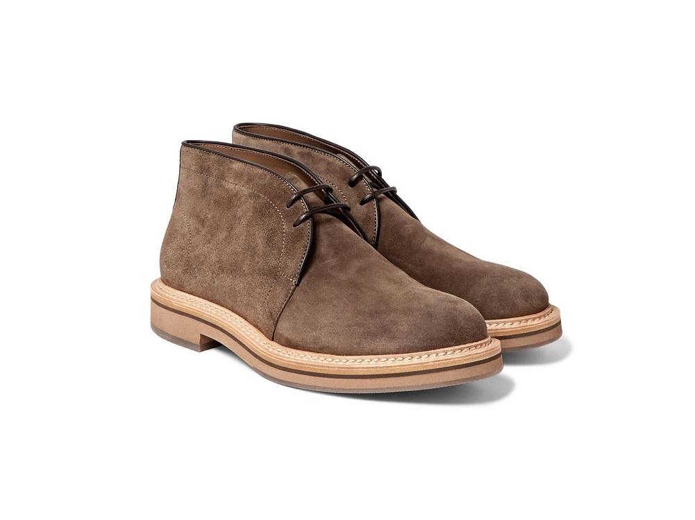 мужская зимняя обувь 2018 - дезерты