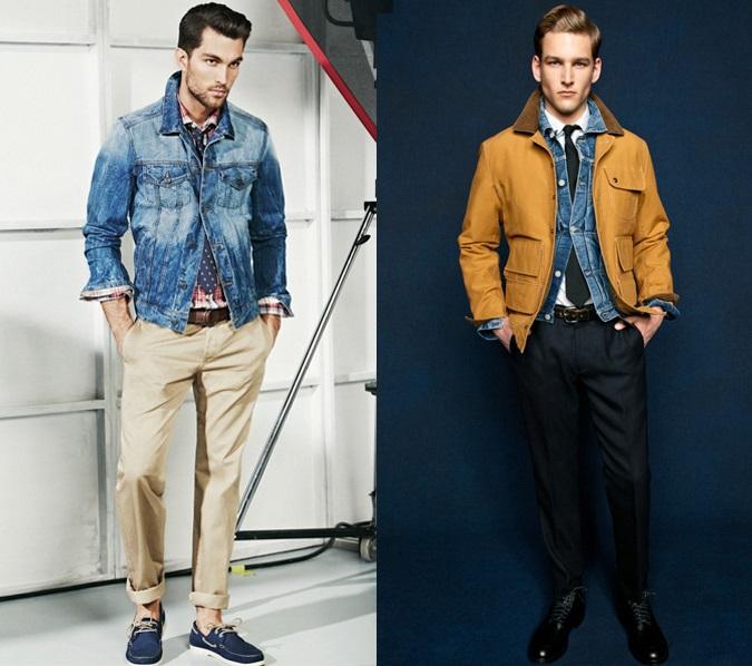 Мужской стиль: как носить джинсовую куртку этой весной