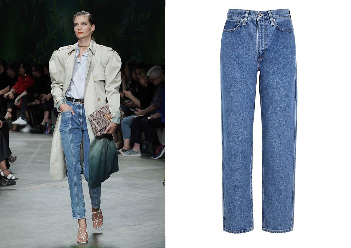 Модные джинсы лета 2020: 6 актуальных трендов