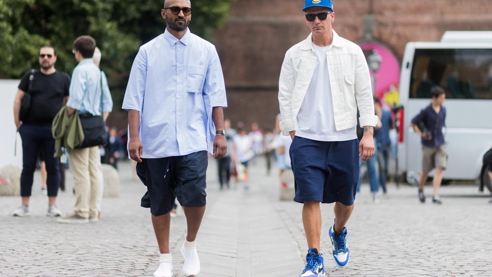 Мужской стиль: модные шорты лета 2020