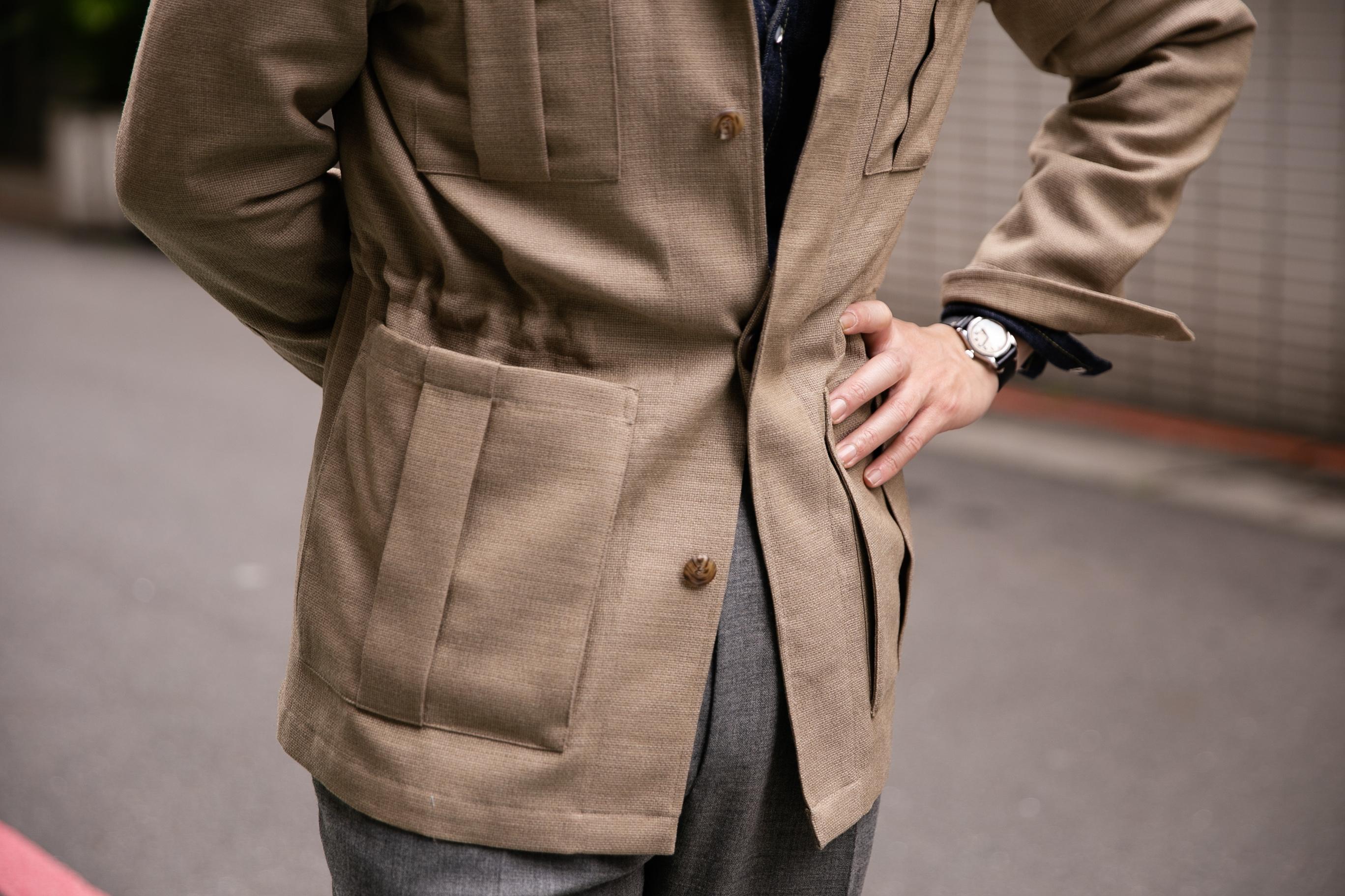 Мужской стиль: куртка сафари для разных типажей Кибби