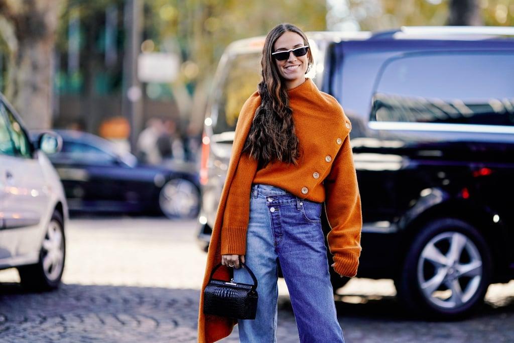 Нескучная база: как носить свитер и джинсы