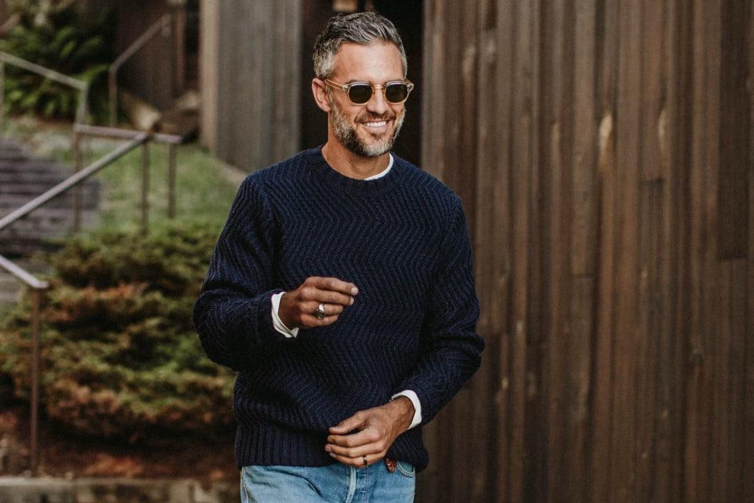 Выбираем мужской свитер: 4 актуальных примера